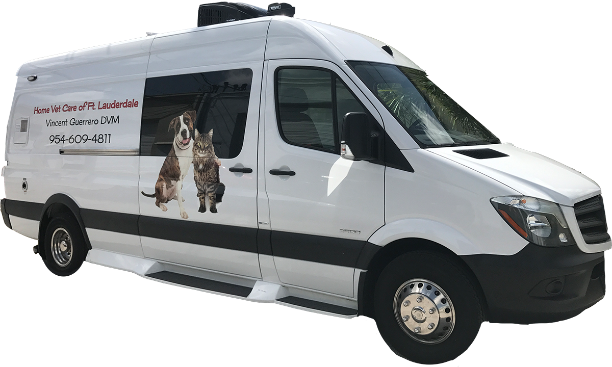 Image of mobile vet clinic van
